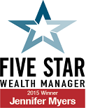 Plaque - Five Star Professional Wealth Manager - Washington DC Metro Area 2015