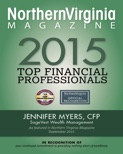 Plaque - Northern Virginia Magazine Top Financial Professional 2015