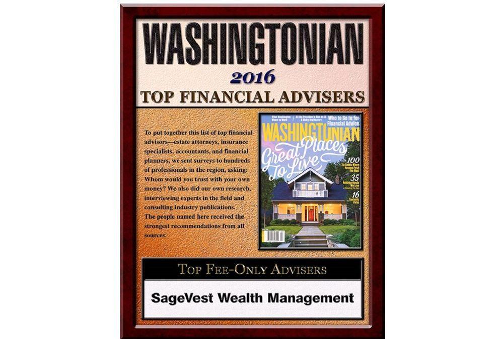 Jennifer Myers – A Washingtonian Magazine Top Money Advisor