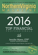 Northern Virginia Magazine Top  Financial Professional 2016 – NoVA