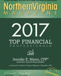 Jennifer Myers Named in Northern Virginia Magazine's Top Financial Professionals