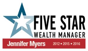 Five Star Wealth Manager 2016 Award logo