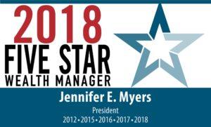 Five Start Wealth Manager 2018 Award logo
