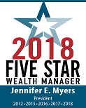 Five Star Professional Wealth Manager 2018 – Washington, DC Metro Area