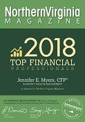 Northern Virginia Top Financial Professional Award 2018