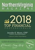 Northern Virginia Top Financial Professional Award 2018 logo