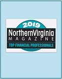 Northern Virginia Top Financial Professional Award 2019