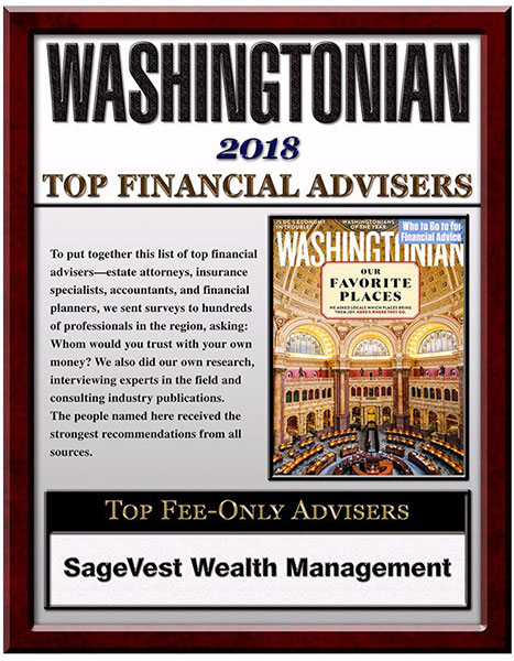 Washingtonian Top Fee-Only Financial Planner In The DC Area