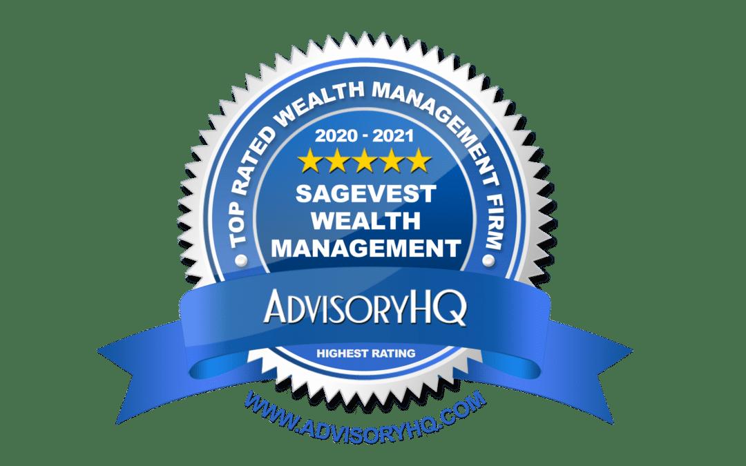 Advisory HQ Best Wealth Management Firm 2020-21